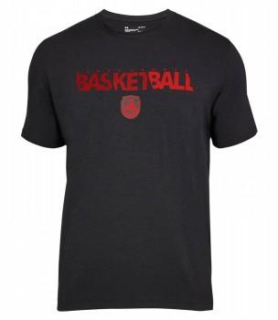 Футболка для игры в баскетбол Under Armour Basketball Wordmark Ss - купить (заказать), узнать цену - Охотничий супермаркет Стрелец г. Екатеринбург