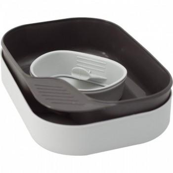 Портативный набор посуды CAMP-A-BOX® BASIC LIGHT GREY, W302610 - купить (заказать), узнать цену - Охотничий супермаркет Стрелец г. Екатеринбург