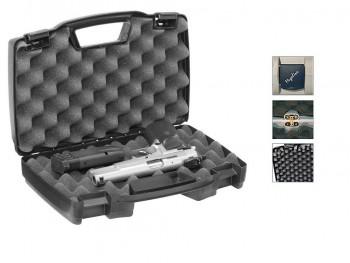 Кейс оружейный Megaline 50х30х8,5 Black (пластик, 2 клипсы) - купить (заказать), узнать цену - Охотничий супермаркет Стрелец г. Екатеринбург