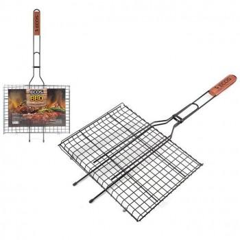 Решетка для барбекю ECOS RD-172D (р-р 35x25x2см, общая длина 70 см, - купить (заказать), узнать цену - Охотничий супермаркет Стрелец г. Екатеринбург