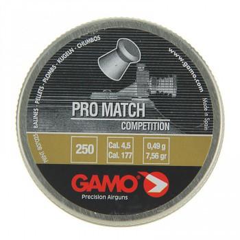 """Пуля пневм. """"Gamo Pro-Match"""", кал. 4,5 мм. (250 шт.) - купить (заказать), узнать цену - Охотничий супермаркет Стрелец г. Екатеринбург"""