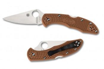 Нож Spyderco C11FPBN Delica IV Brown - купить (заказать), узнать цену - Охотничий супермаркет Стрелец г. Екатеринбург