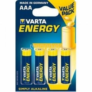 Э/п Varta 4103.213.412 Energy LR03/286 BL4 - купить (заказать), узнать цену - Охотничий супермаркет Стрелец г. Екатеринбург