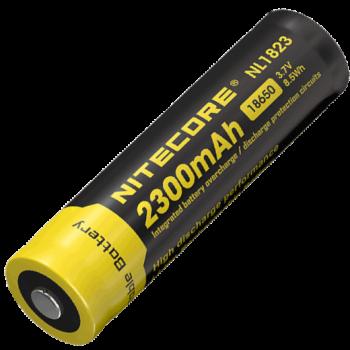 Аккумулятор с защитой Nitecore NL1823 18650 Li 3.7v 2300mA - купить (заказать), узнать цену - Охотничий супермаркет Стрелец г. Екатеринбург