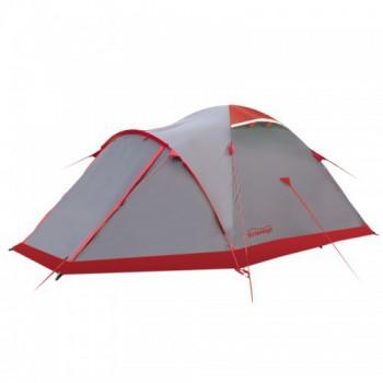 Палатка Tramp Mountain 3 (V2) (серый) - купить (заказать), узнать цену - Охотничий супермаркет Стрелец г. Екатеринбург