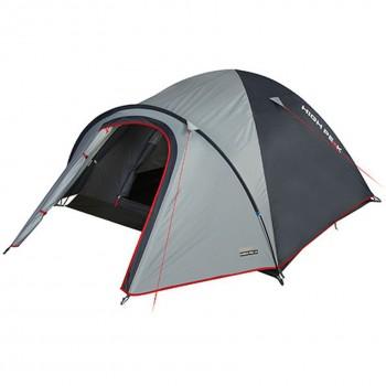 Палатка HIGH PEAK Nevada 4 (цвет: светло-серый/тёмно-серый/красный) 10205 - купить (заказать), узнать цену - Охотничий супермаркет Стрелец г. Екатеринбург