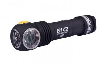 Фонарь Armytek Elf C2 XP-L USB (Серебро) - купить (заказать), узнать цену - Охотничий супермаркет Стрелец г. Екатеринбург