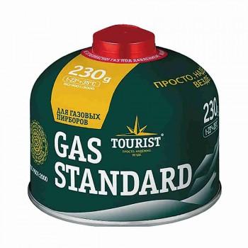"""Баллон газовый Tourist """"Standard"""" (TBR-230) для портативных приборов, резьбовой - купить (заказать), узнать цену - Охотничий супермаркет Стрелец г. Екатеринбург"""