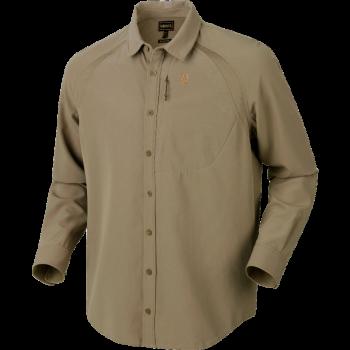 Рубашка Harkila Herlet Tech L/S Light khaki - купить (заказать), узнать цену - Охотничий супермаркет Стрелец г. Екатеринбург