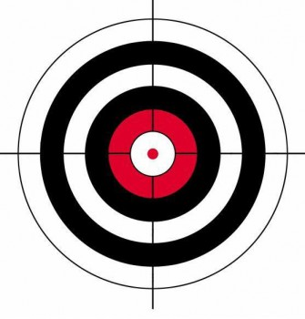 Мишень Remington 3-х цветная  - купить (заказать), узнать цену - Охотничий супермаркет Стрелец г. Екатеринбург
