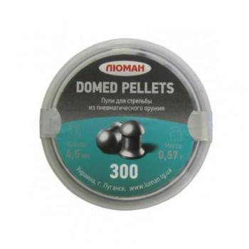 """Пуля пневм. """"Domed pellets"""", 0,57 г. 4,5 мм. (300 шт.) - купить (заказать), узнать цену - Охотничий супермаркет Стрелец г. Екатеринбург"""