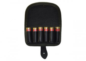 Подсумок на приклад неопреновый К-12 на 6 патронов (неопрен,кожа нат) ПП-18 - купить (заказать), узнать цену - Охотничий супермаркет Стрелец г. Екатеринбург