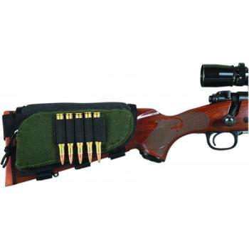 Чехол-патронташ Allen на приклад для нарезного оружия на 5 патронов  - купить (заказать), узнать цену - Охотничий супермаркет Стрелец г. Екатеринбург