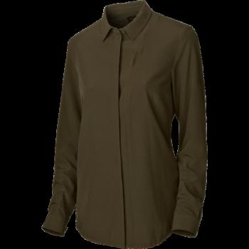 Рубашка Harkila Herlet Tech Lady  Willow green - купить (заказать), узнать цену - Охотничий супермаркет Стрелец г. Екатеринбург