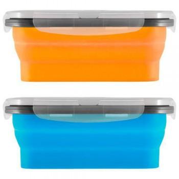 Силиконовый контейнер для еды с крышкой EL-540 (540 мл, полипроп, силикон) - купить (заказать), узнать цену - Охотничий супермаркет Стрелец г. Екатеринбург
