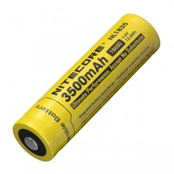 Аккумулятор с защитой NITECORE NL1835 18650 3.7v 3500mA - купить (заказать), узнать цену - Охотничий супермаркет Стрелец г. Екатеринбург