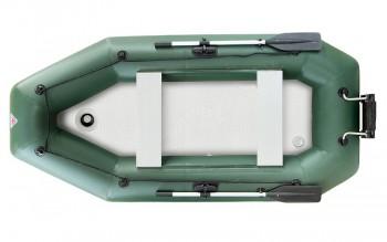 Лодка надувная YUKONA 280 GTK + пайол + транц зеленая (н) - купить (заказать), узнать цену - Охотничий супермаркет Стрелец г. Екатеринбург