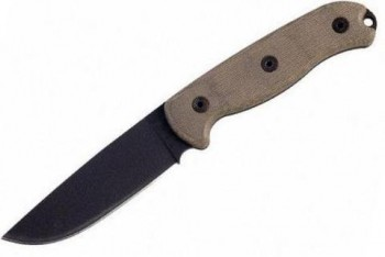 Нож Ontario TAK Canvas Micarta сталь 1095 ONT/8602R - купить (заказать), узнать цену - Охотничий супермаркет Стрелец г. Екатеринбург