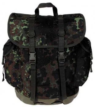 Горный рюкзак MFH, 30 л, хлопок, цвет Flecktarn - купить (заказать), узнать цену - Охотничий супермаркет Стрелец г. Екатеринбург