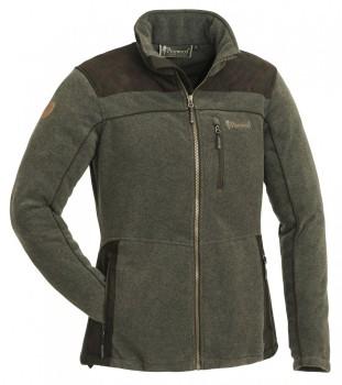 Куртка жен. фли-вая DIANA EXKLUSIVE цвет Olive melange/Suede brown - купить (заказать), узнать цену - Охотничий супермаркет Стрелец г. Екатеринбург