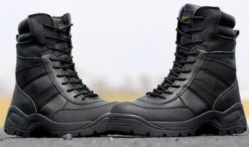 БОТИНКИ 8'' Tactical Side Zip BLACK код AS-BT0011B - купить (заказать), узнать цену - Охотничий супермаркет Стрелец г. Екатеринбург