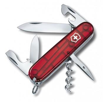 Нож Victorinox Spartan прозрачный красный 1.3603.T - купить (заказать), узнать цену - Охотничий супермаркет Стрелец г. Екатеринбург