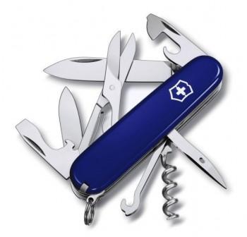 Нож Victorinox Climber Blue 1.3703.2 - купить (заказать), узнать цену - Охотничий супермаркет Стрелец г. Екатеринбург
