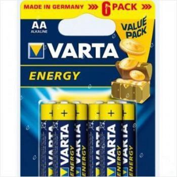 Э/п Varta 4106.229.416 Energy LR6/316 BL6 - купить (заказать), узнать цену - Охотничий супермаркет Стрелец г. Екатеринбург
