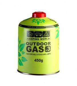 Картридж газовый CW 450г резьбовой - купить (заказать), узнать цену - Охотничий супермаркет Стрелец г. Екатеринбург