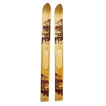 Лыжи промысловые деревянные (рост 125 см, ширина 150 мм) - купить (заказать), узнать цену - Охотничий супермаркет Стрелец г. Екатеринбург