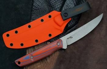 """Нож """"Scar"""" blue-orange, s/w G10 - купить (заказать), узнать цену - Охотничий супермаркет Стрелец г. Екатеринбург"""