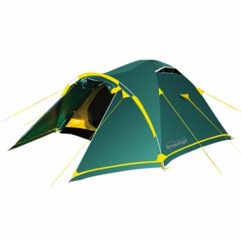 Палатка Tramp Stalker 4 (V2) (зеленый) - купить (заказать), узнать цену - Охотничий супермаркет Стрелец г. Екатеринбург