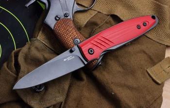 """Нож """"SHOT"""" bl S/W (red) - купить (заказать), узнать цену - Охотничий супермаркет Стрелец г. Екатеринбург"""