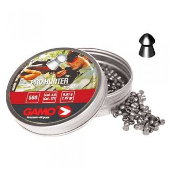 Пули пневматические GAMO Pro Hunter 4.5 мм 0,49 грамма (500 шт.) - купить (заказать), узнать цену - Охотничий супермаркет Стрелец г. Екатеринбург