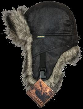 Шапка-ушанка NordKapp Balsf Canadian Wolf арт.: 531 Цвет: черный. - купить (заказать), узнать цену - Охотничий супермаркет Стрелец г. Екатеринбург