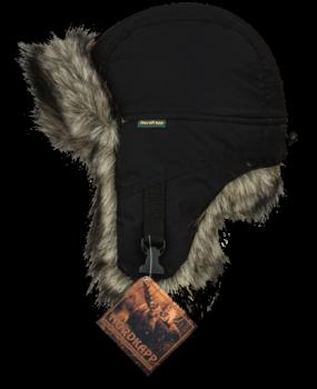 Шапка-ушанка NordKapp Malselv Canadian Wolf арт.: 534  Цвет черный - купить (заказать), узнать цену - Охотничий супермаркет Стрелец г. Екатеринбург