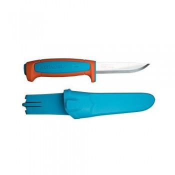 Нож Morakniv Basic 546, нержавеющая сталь, пластиковая ручка (оранжевый) - купить (заказать), узнать цену - Охотничий супермаркет Стрелец г. Екатеринбург