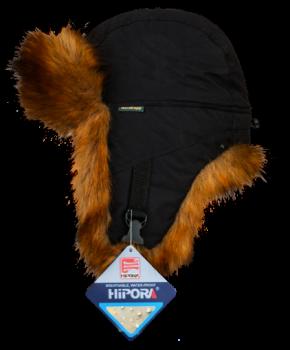 Шапка-ушанка NordKapp Oster Frozen World Fox black арт.:553 Цвет: черный - купить (заказать), узнать цену - Охотничий супермаркет Стрелец г. Екатеринбург