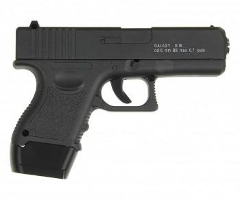 Пистолет софтэйр GALAXY G.16 пружинный, к.6мм - купить (заказать), узнать цену - Охотничий супермаркет Стрелец г. Екатеринбург