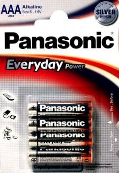 Э/п Panasonic Everyday  LR03/286 BL4 - купить (заказать), узнать цену - Охотничий супермаркет Стрелец г. Екатеринбург