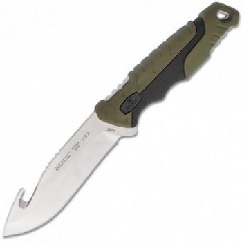 Нож B0657GRG Pursuit Large Guthook -с фикс. клинком и крюком, сталь 420НС, руко - купить (заказать), узнать цену - Охотничий супермаркет Стрелец г. Екатеринбург