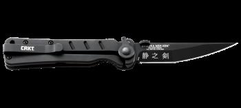 Нож CRKT_2926 Shizuka noh Ken -складной, рук-ть G10, клинок AUS8, черн. покрыти - купить (заказать), узнать цену - Охотничий супермаркет Стрелец г. Екатеринбург