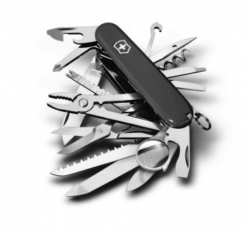 Нож Victorinox SwissChamp черный (1.6795.3) - купить (заказать), узнать цену - Охотничий супермаркет Стрелец г. Екатеринбург
