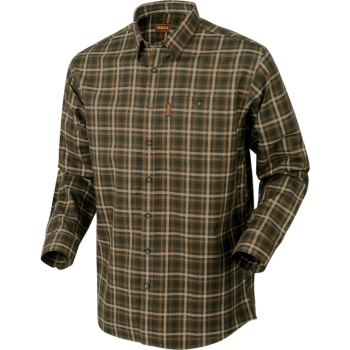 Рубашка Harkila Milford  Willow green check - купить (заказать), узнать цену - Охотничий супермаркет Стрелец г. Екатеринбург