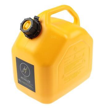 Канистра для ГСМ 10л желтая KESSLER - купить (заказать), узнать цену - Охотничий супермаркет Стрелец г. Екатеринбург