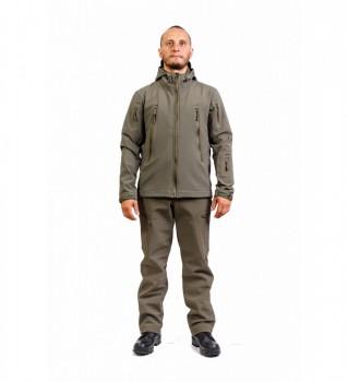 Куртка Софт-шелл с влагозащитной молнией. 742-002 - купить (заказать), узнать цену - Охотничий супермаркет Стрелец г. Екатеринбург