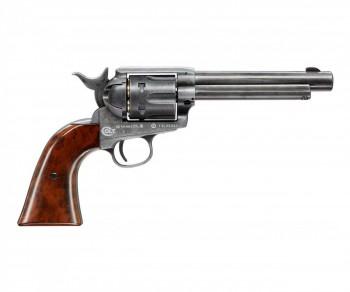 Револьвер пневматический Colt SAA 45 PELLET antique, кал. 4,5мм - купить (заказать), узнать цену - Охотничий супермаркет Стрелец г. Екатеринбург