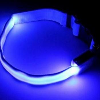 Ошейник сигнальный светящийся синий L Num'Axes - купить (заказать), узнать цену - Охотничий супермаркет Стрелец г. Екатеринбург