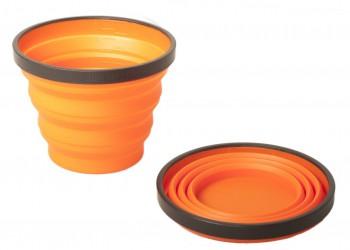 Стакан складной силиконовый Silicon Folding Mug Оранжевывй, 1604319 - купить (заказать), узнать цену - Охотничий супермаркет Стрелец г. Екатеринбург