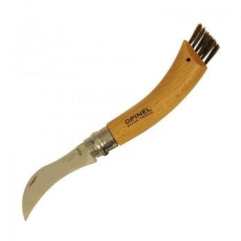 Нож грибника Opinel №8, нержавеющая сталь, рукоять бук - купить (заказать), узнать цену - Охотничий супермаркет Стрелец г. Екатеринбург